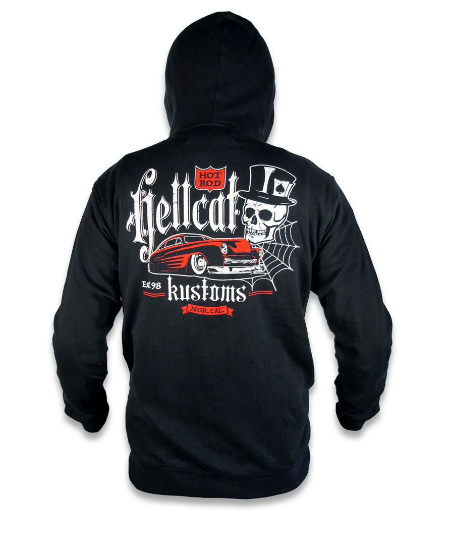 KUSTOMS, Hotrod Hellcat Men, Sweatshirts at Switchblade Clothing