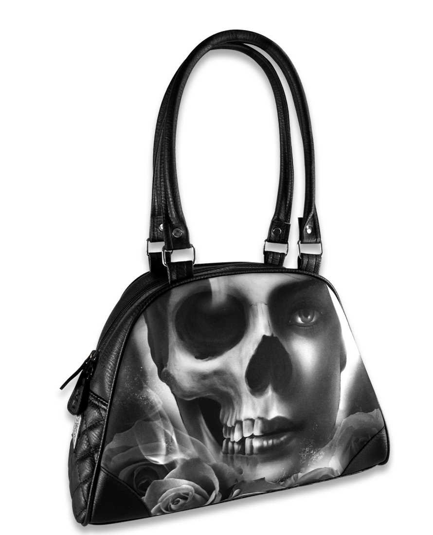 Liquorbrand Bowling bag purseSkull
